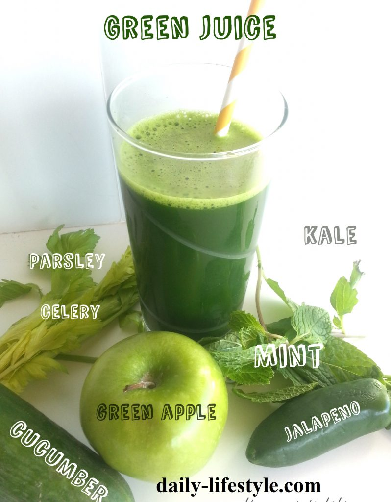 5 Green Juices for good health